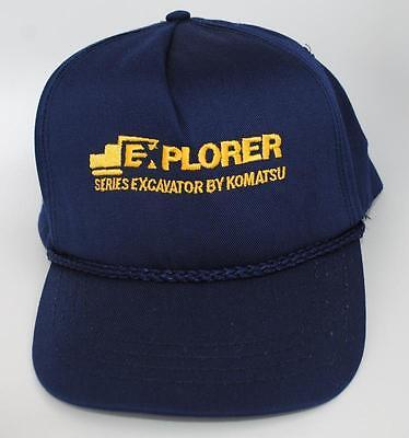 KOMATSU Blue Adjustable Baseball Hat//Cap One Size Fits Most Outdoor Cap />NEW/<