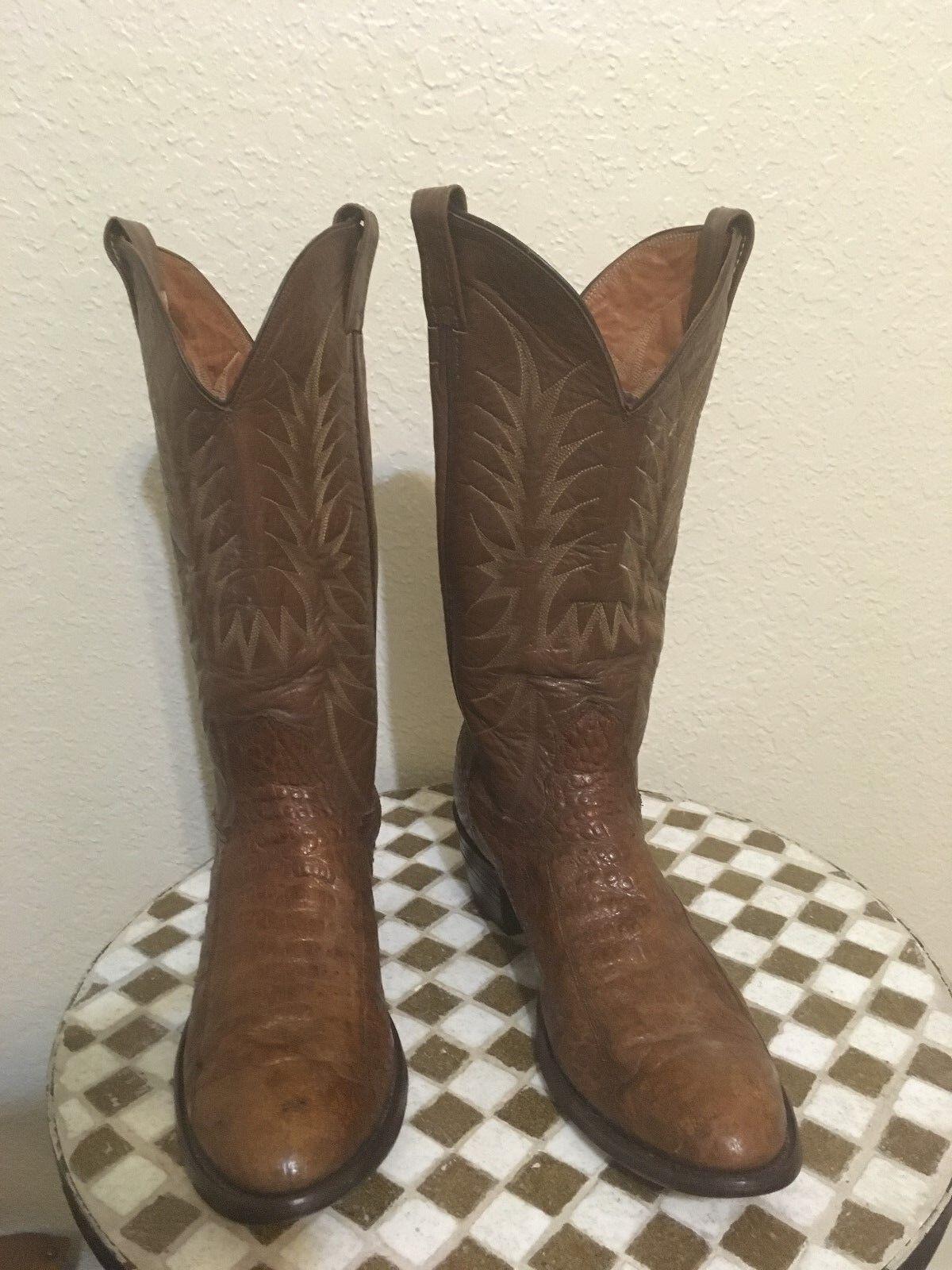 Marrón NOCONA Western Trail Boss botas de vaquero 11 D