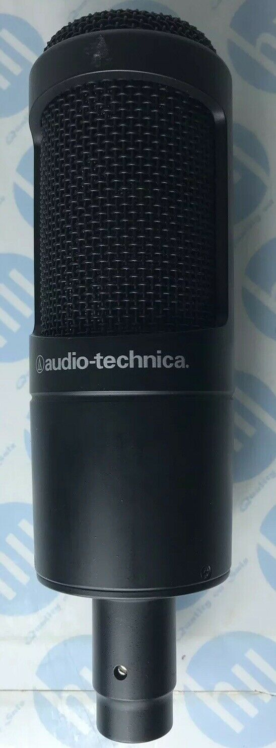 Audio Technica AT2020 Cardioid Condenser Microphone Only