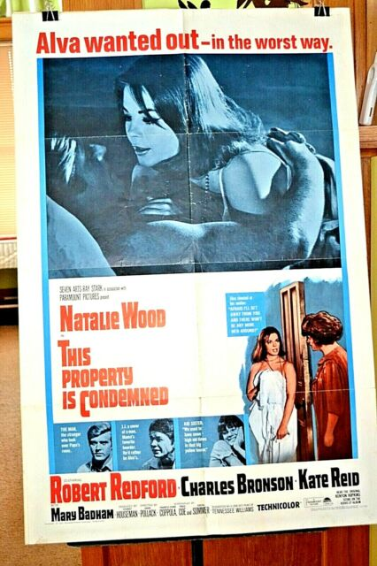 Original Movie Poster THIS PROPERTY IS CONDEMNED Excellent ...
