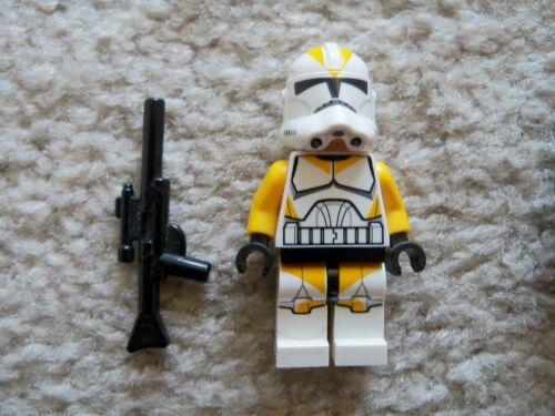 75013 Rare LEGO Star Wars Clone Wars 212th Clone Trooper w// Weapon