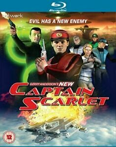 Captain-Scarlet-Blu-ray-Action-Sci-Fi-The-Complete-Series-Free-Shipping