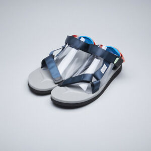 Suicoke-OG-022Cab-DEPA-Cab-Navy-Gray-Nylon-Tapes-Antibacterial-Sandals-Slipper