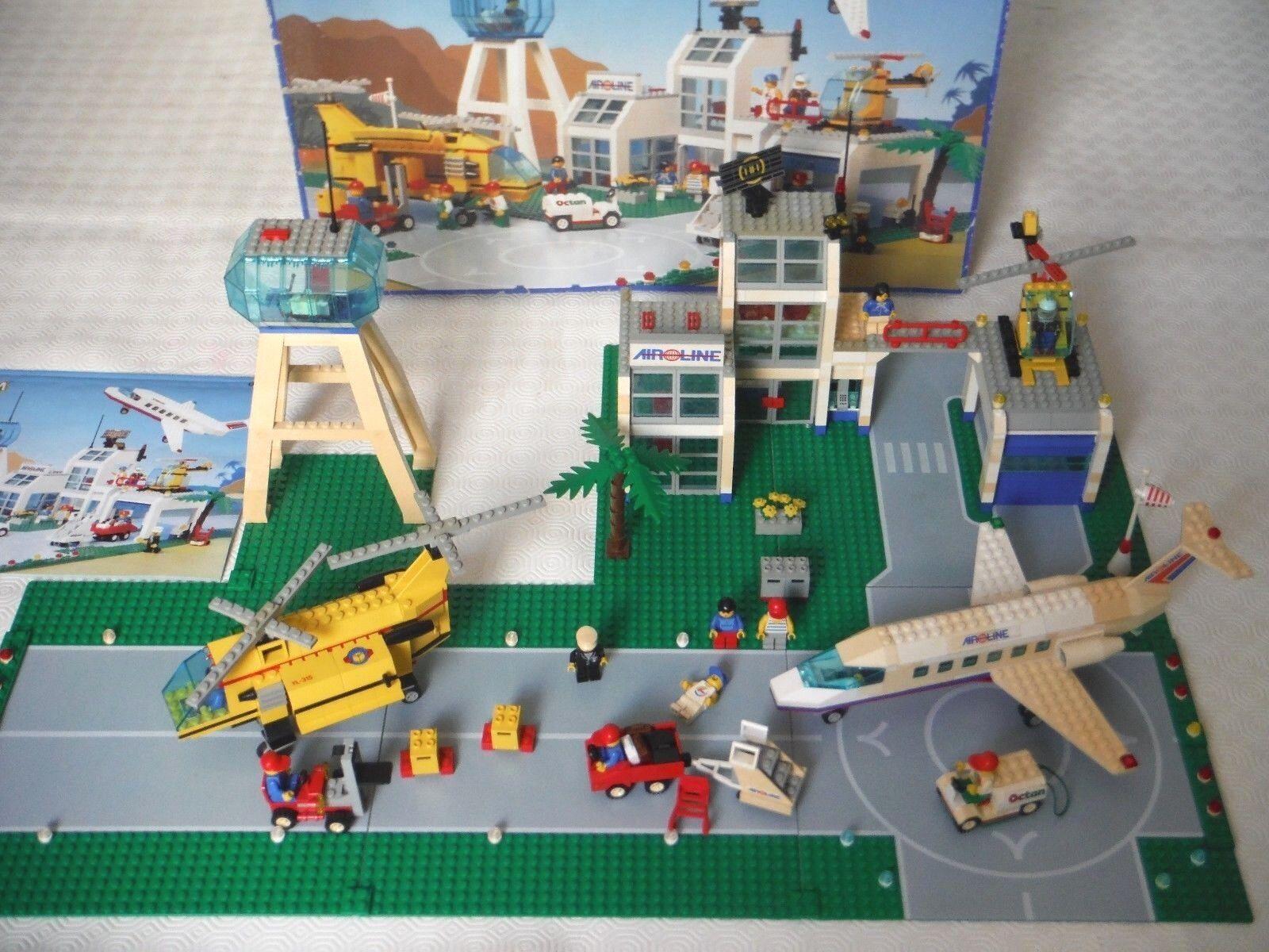 SET LEGO 6597 AEROPORTO INTERNAZIONALE - COMPLETO 100% - RARITA' ANNO 1994