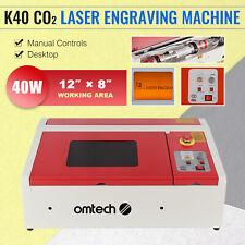 Upgraded 40w K40 Co2 Laser Engraver Cutting Machine Crafts Cutter Usb 30x20cm