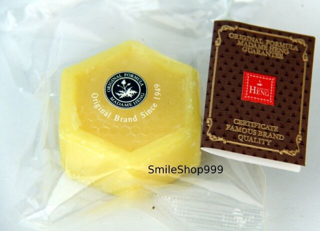 Honey Soap plus Vitamin E Madame Heng Prevent Acne Diminish Wrinkle Protect Skin