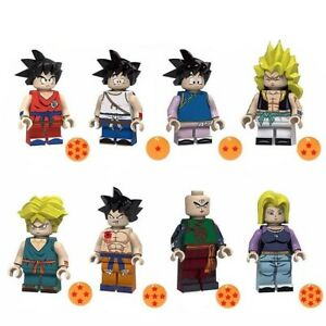 Dragon-Ball-Z-Dragonball-Figur-Fighter-Manga-Action-Sammler-Anime-Mini-Figur-Neu