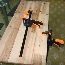 Wood Hard Grip Release Speed Spreader Woodworking Bar Clamp Quick Ratchet