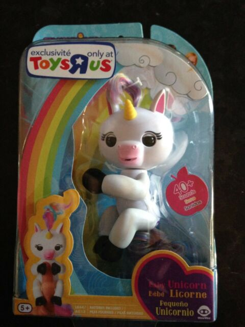 FINGERLINGS AUTHENTIC WOWWEE BABY UNICORN GIGI Toys R Us Exclusive