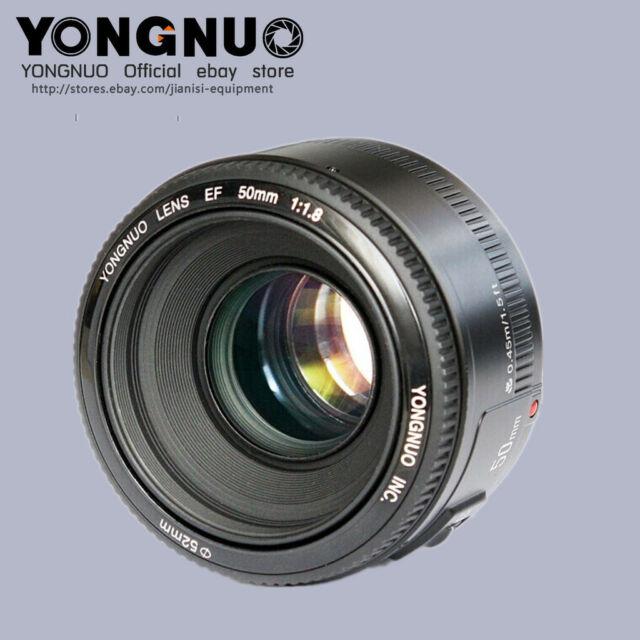 YONGNUO YN EF 50MM F/1.8 AF MF Focus Lens For Canon EF Mount EOS Camera