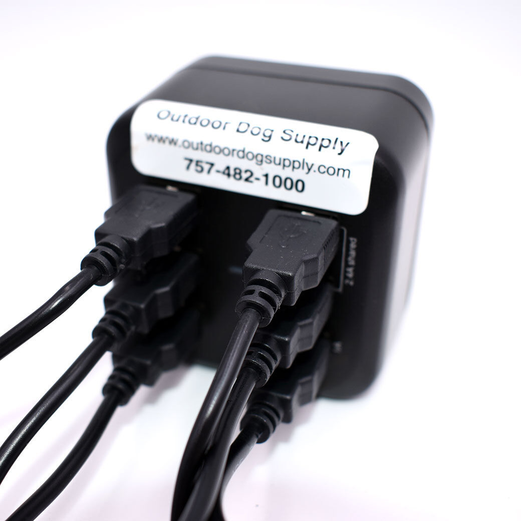 Multi Charger for 6 Alpha /& Astro Devices with Cable /& Clips for Standard Collar