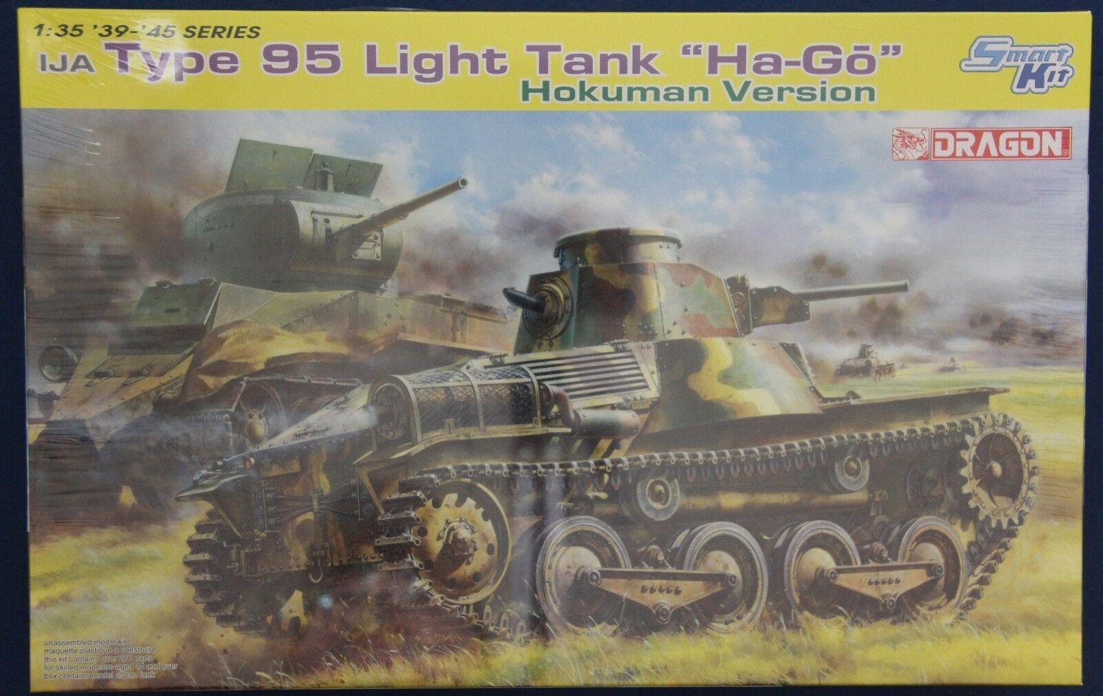 Dragon 6777 1 35 Type 95 Light Tank Ha-Go Hokuman Version