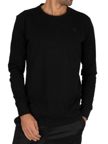 G-Star Herren Swando Loose Longsleeved T-Shirt Schwarz