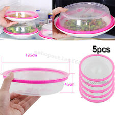 2 Platetopper Mini Tall Universal Leftover Lid Microwave Cover Air Red Plate Topper