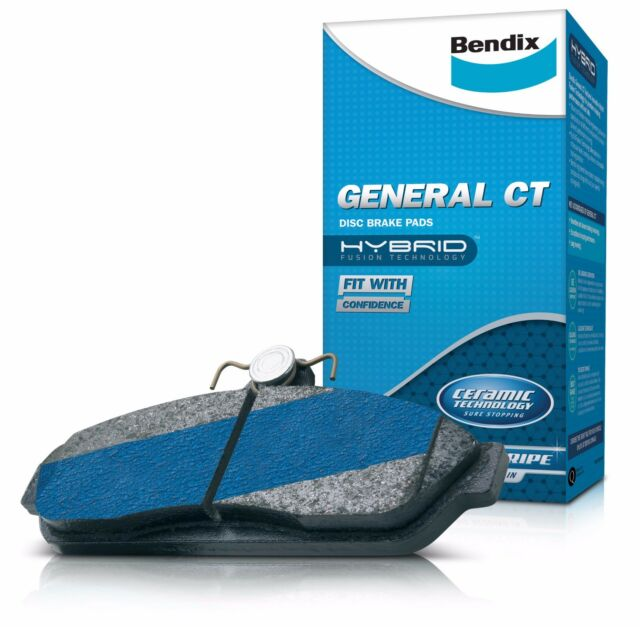 BENDIX GCT BRAKE PADS FRONT DB308 for Toyota Corolla AE90 AE95 4WD 4 87-95