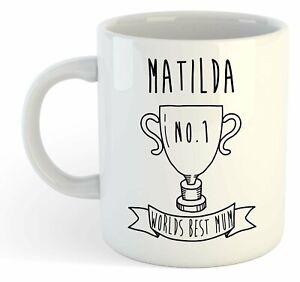 Matilda - Monde Meilleure Maman Trophy Tasse - Pour Cadeau De Fête Des Mères , Hgzpngg9-07230221-271114014