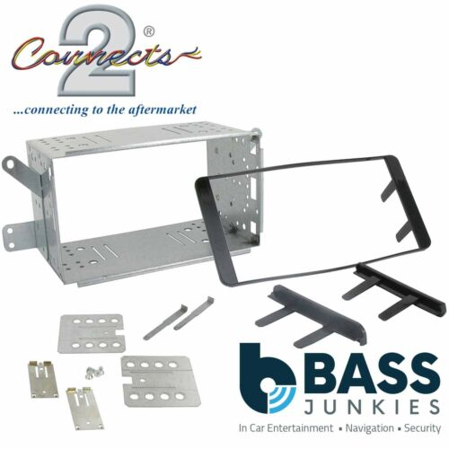 CT23TY03A For A Toyota Hilux 07-12 Car Stereo Double Din Fascia Panel /& Cage Kit