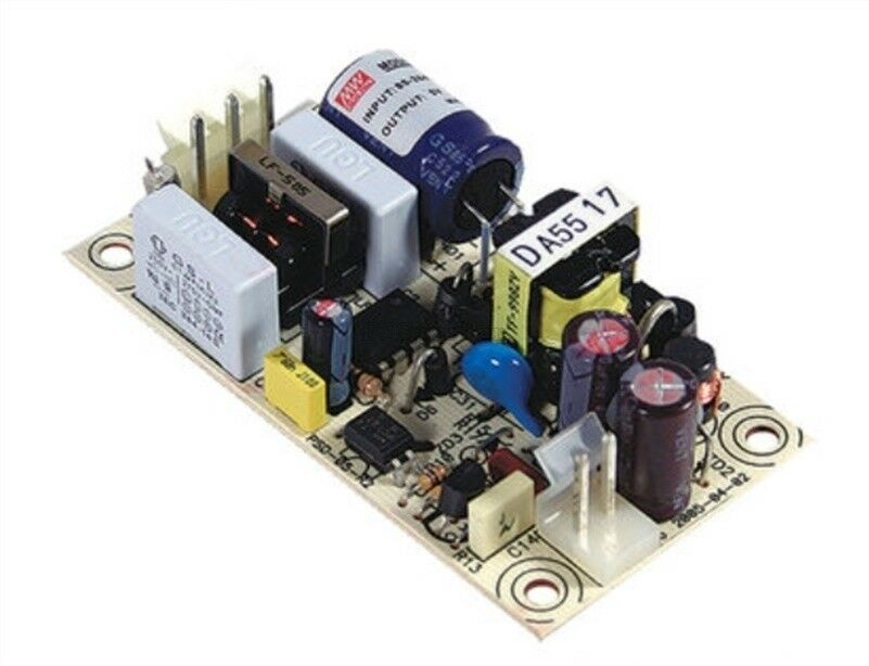1Pc New Meanwell PS-05-12 12V 0.45A 5.4W Bare Board Pcb Power Supply ts