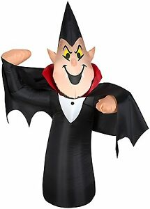 GEMMY Airblown Inflatable Vampire Outdoor Decor, 3.5-Feet Halloween