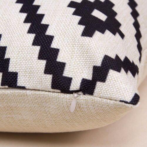 "18/"" Classic Coffee Equipment Pattern Pillow Case Cushion Cover Home Sofa Decor"