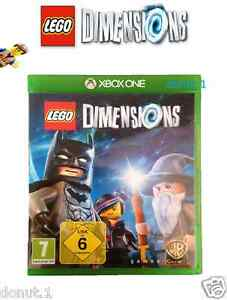 LEGO-Dimensions-Xbox-One-Game-Software-only-Solus-Disc-As-N-E-W-Condition