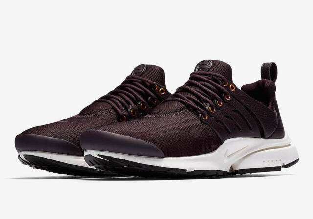 c45c87824e8fb Nike Air Presto Premium Mens 848141-600 Burgundy Ash Sail Running ...