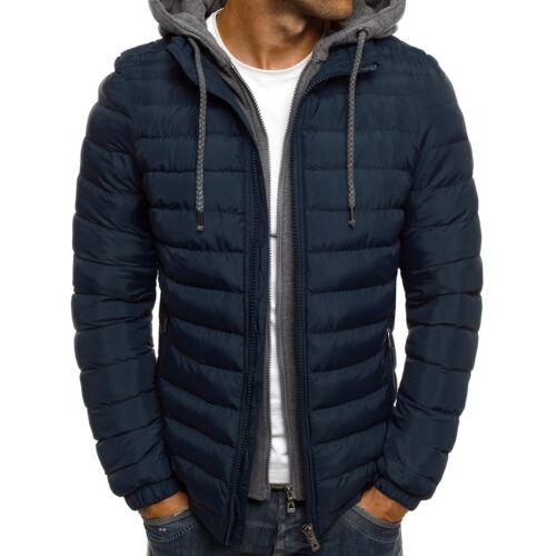 Jacket Winter Saldi Outlet Jacket Parka Mix Uomo Giacca invernale Thermal Coat Ozonee z8pqwBw