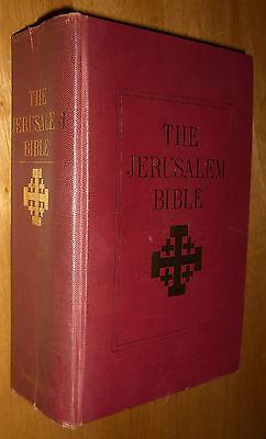 The Jerusalem Bible Doubleday Slipcover 1966