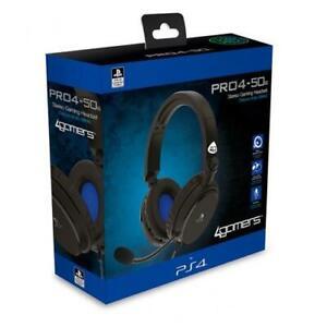 Auriculares para juegos Chat PS4 con micrófono licencia oficial PRO4-50s...
