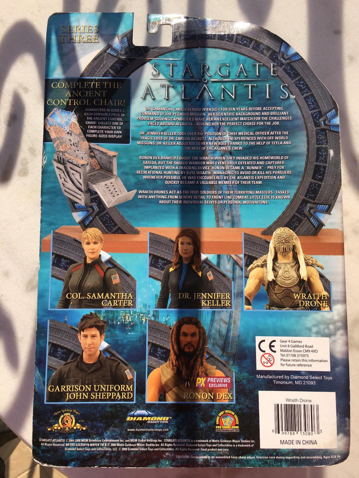 Stargate Stargate Stargate Atlantis Series 3 Wraith Drone 26a2ba