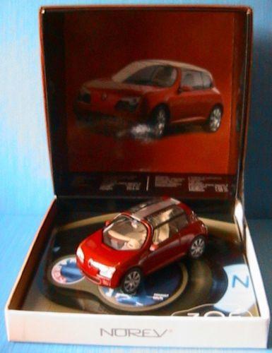 RENAULT ZOE CONCEPT CAR GENEVE 2005 NOREV 517999 1 43