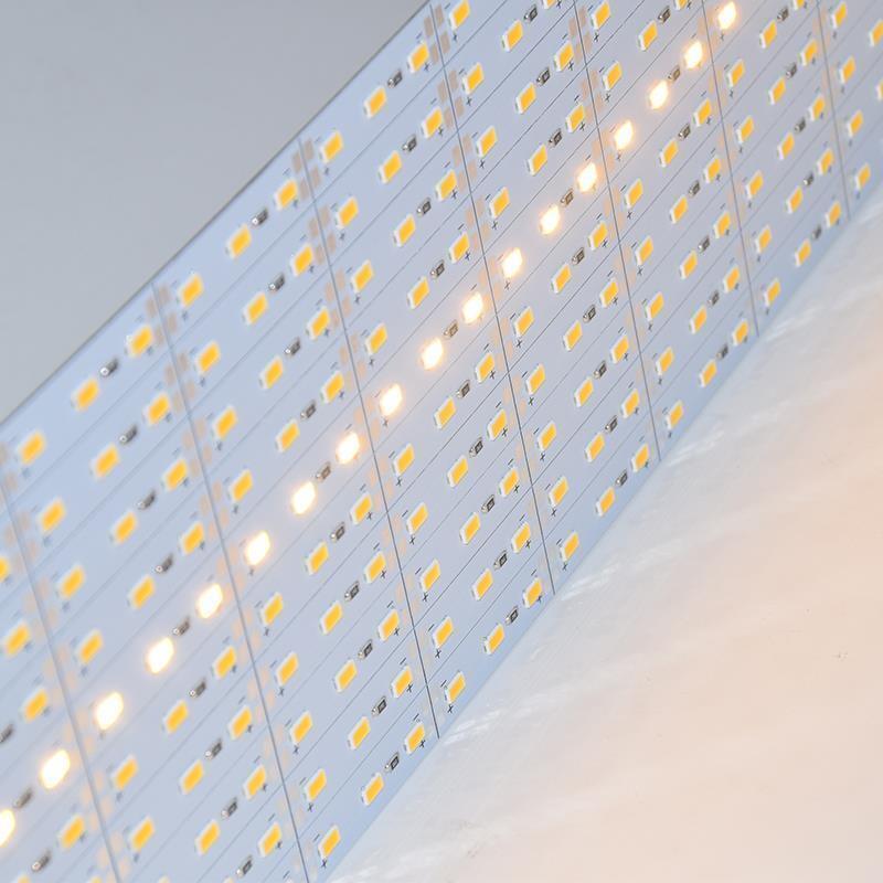 SMD5630 50 un. 1M DC12V 72 LED de Luz de Barra rígido del Gabinete Lámpara de aleación de aluminio duro