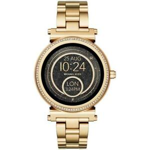 Michael Kors Womens Access Sofie Smart Watch 42mm Ebay