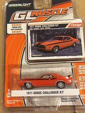 Greenlight MUSCLE  Series 13. 1971 Dodge Challenger.   Hemi Orange