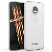For Motorola Moto Z Clear Tpu Grip Bumper Slim-fit Transparent Bumper Case