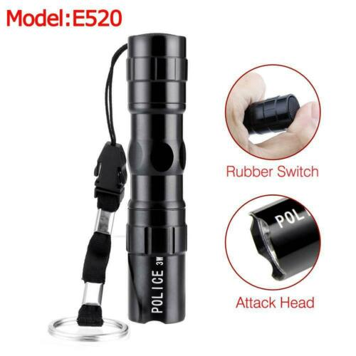 20000 LM Lamp Pocket Flashlight Torch LED Pen Size T6 USB Rechargeable Light JS