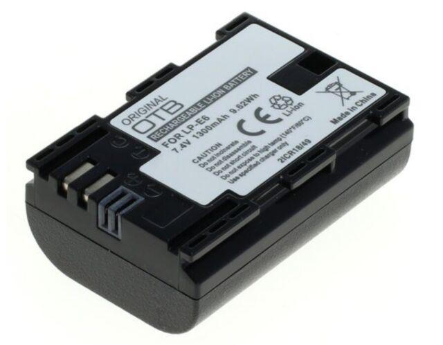 OTB Batteria per Canon EOS 7D 60D Fotocamera Digitale LP-E6 LPE6