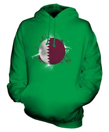 QATAR FOOTBALL UNISEX HOODIE TOP GIFT WORLD CUP SPORT