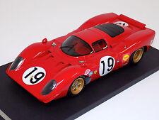 1/18 Ferrari 312P 1969 Le Mans Car #19 Amon Schetty Lim150 pcs f3