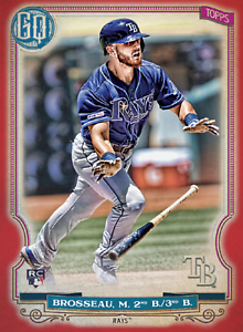 2020 Topps BUNT Michael Brosseau Gypsy Queen RED Base ICONIC! [DIGITAL CARD}