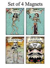 Day of the Dead Star Wars Skeletons Magnets Set of 4
