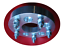 """5x114.3 US Wheel Adapters 1.25/"""" Thick 14x1.5 Studs 71.5 bore x4 5x115 to 5x4.5"""