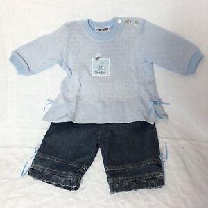 Portofino-Baby-Set-Gr-68-74-NEUWARE-Maedchen-Zweiteiler-Kombination