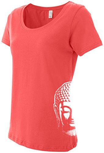Side Print Ladies Little Buddha Head T-shirt