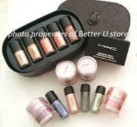 Mac Pigments, Glitters Pick Your Colors 100% Authentic Travel Size