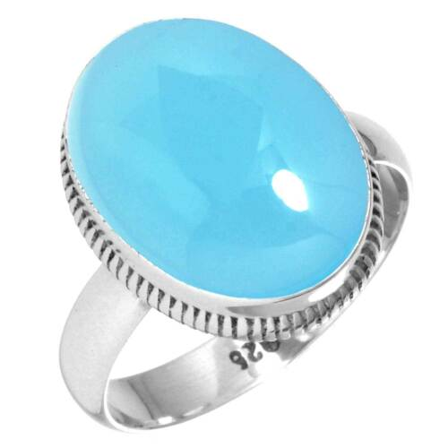 925 Sterling Silver Gemstone Ring Women Jewelry Size 5 6 7 8 9 10 11 12 13 ad143