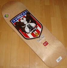 "POWELL PERALTA Frankie Hill Bull Dog Skateboard Deck '80s Classic Natural 10"""
