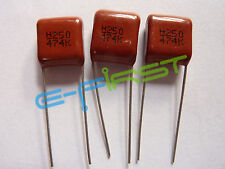 20 pcs 0.47uF 250V Radial Electrolytic Capacitor 515D Series Vintage Sprague