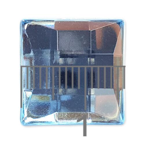 16mm Square Flatback Acrylic Crystal Rhinestone Embellishment Gem Mosaic Craft