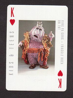 Fraggle Rock Scarce TV Playing Card